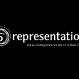 6 Degrees Representation Logo